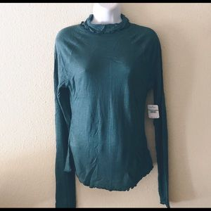 NWT Free People Thermal top Large